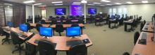 Classroom at new Tulsa Lab and Training Center